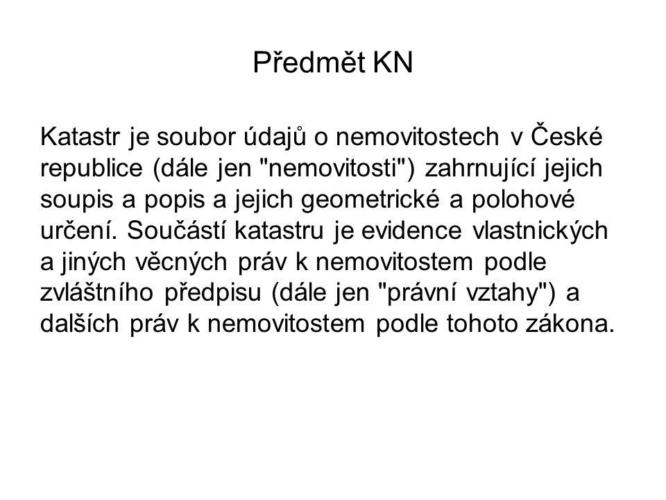 Předmět KN
