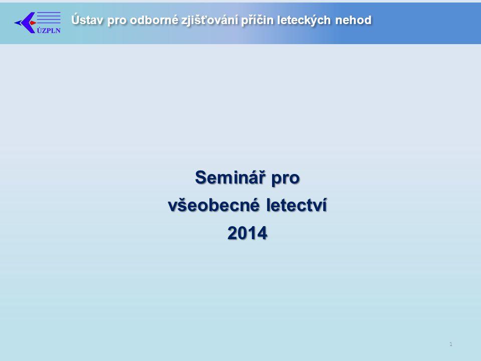 Seminář pro všeobecné letectví 2014