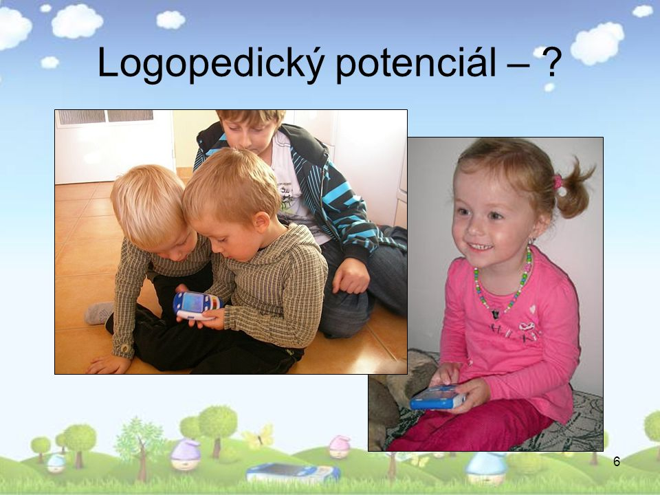 Logopedický potenciál –