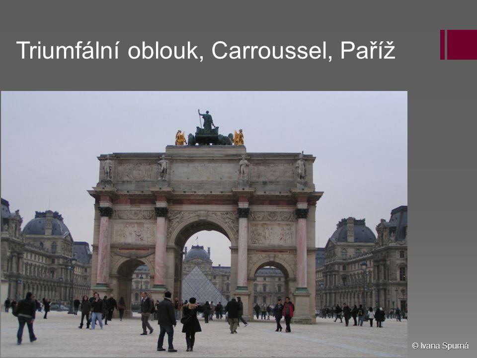 Triumfální oblouk, Carroussel, Paříž