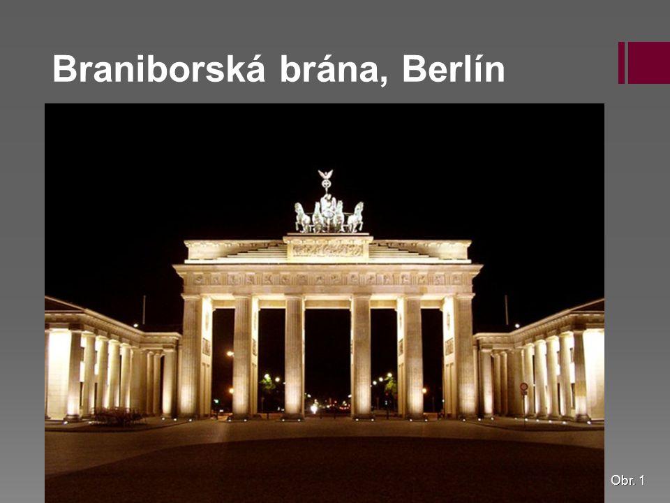 Braniborská brána, Berlín