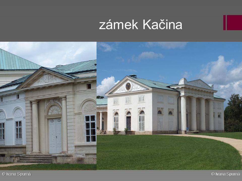 zámek Kačina © Ivana Spurná © Ivana Spurná
