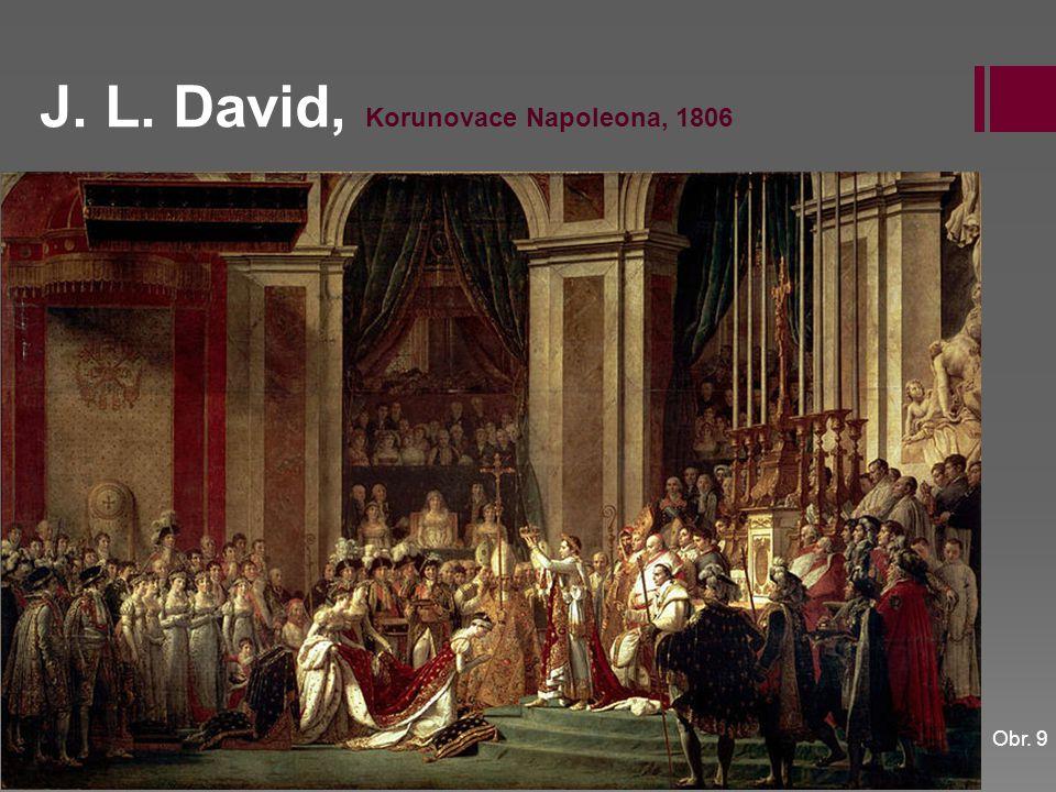 J. L. David, Korunovace Napoleona, 1806