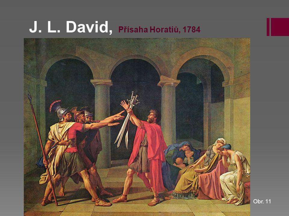 J. L. David, Přísaha Horatiů, 1784