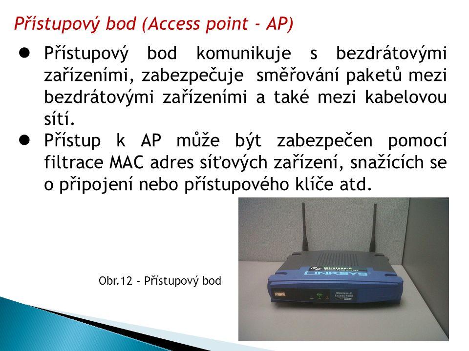 Přístupový bod (Access point - AP)