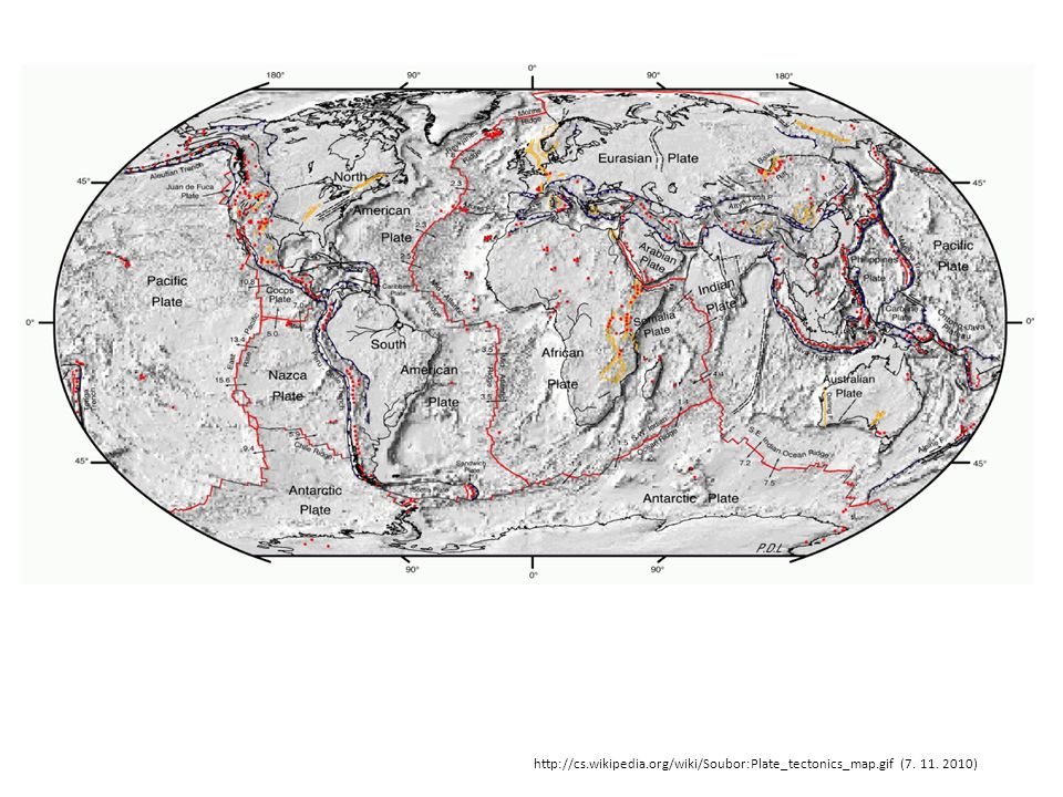 http://cs. wikipedia. org/wiki/Soubor:Plate_tectonics_map. gif (7. 11