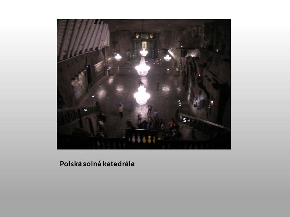 Polská solná katedrála