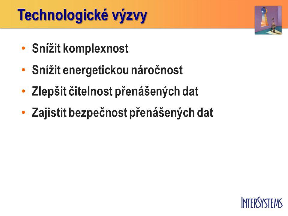 Technologické výzvy Snížit komplexnost Snížit energetickou náročnost