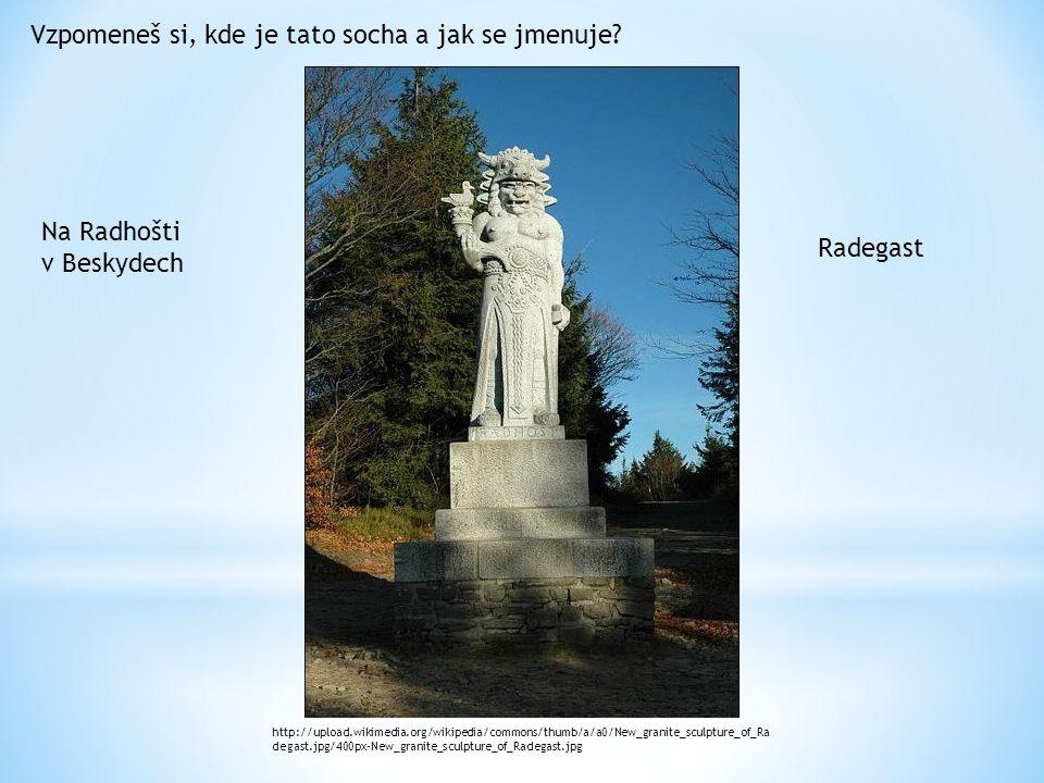 Vzpomeneš si, kde je tato socha a jak se jmenuje