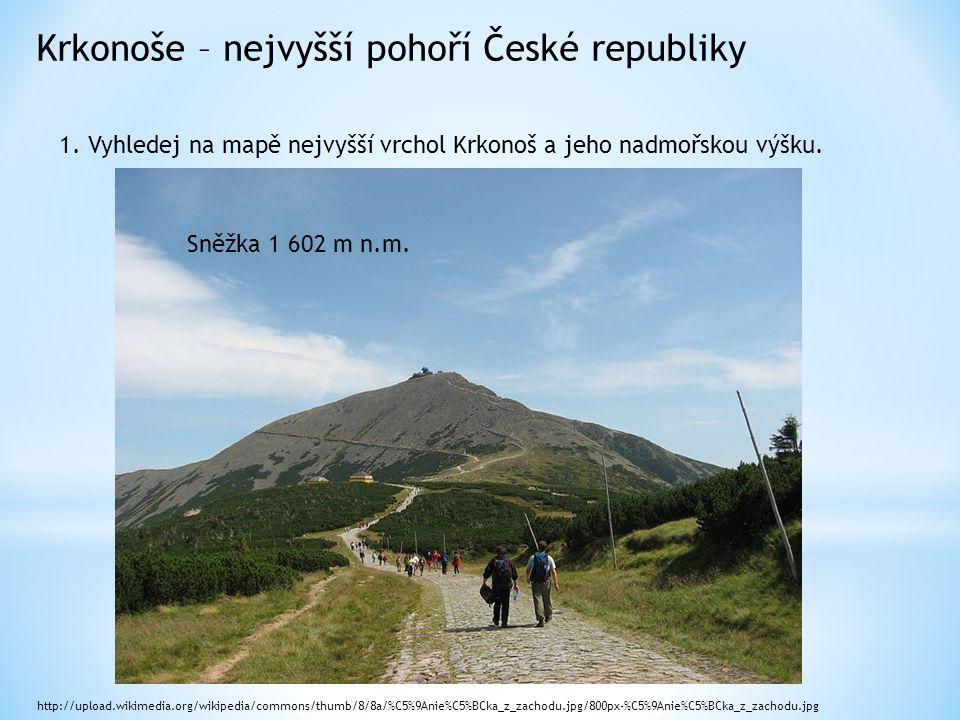 Krkonoše – nejvyšší pohoří České republiky