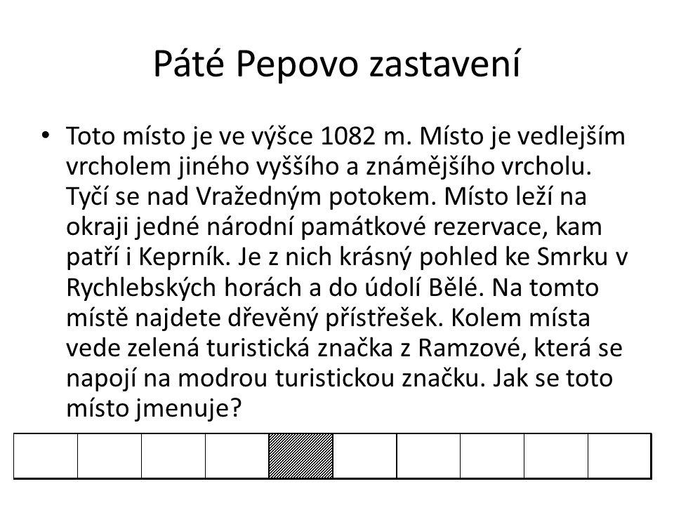 Páté Pepovo zastavení