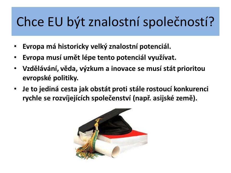 Chce EU být znalostní společností