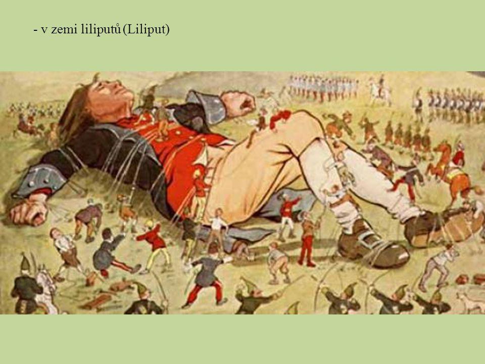 - v zemi liliputů (Liliput)