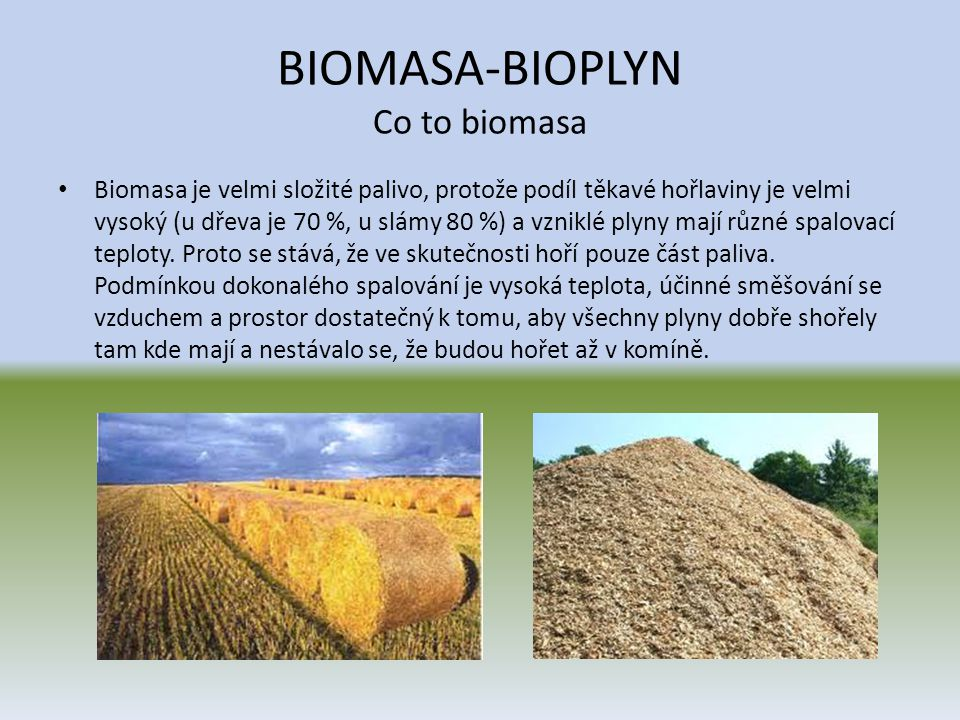 BIOMASA-BIOPLYN Co to biomasa