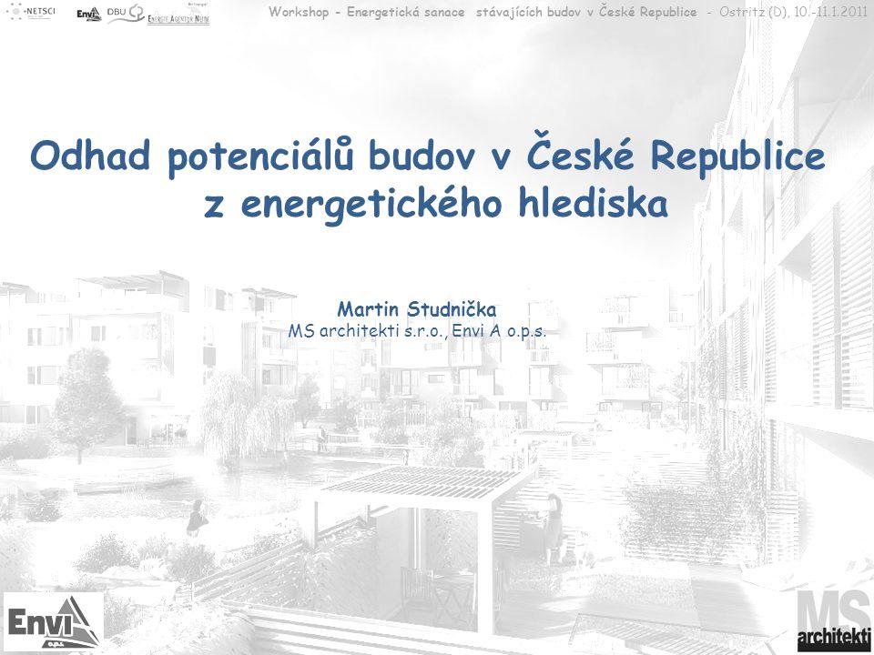 Odhad potenciálů budov v České Republice z energetického hlediska