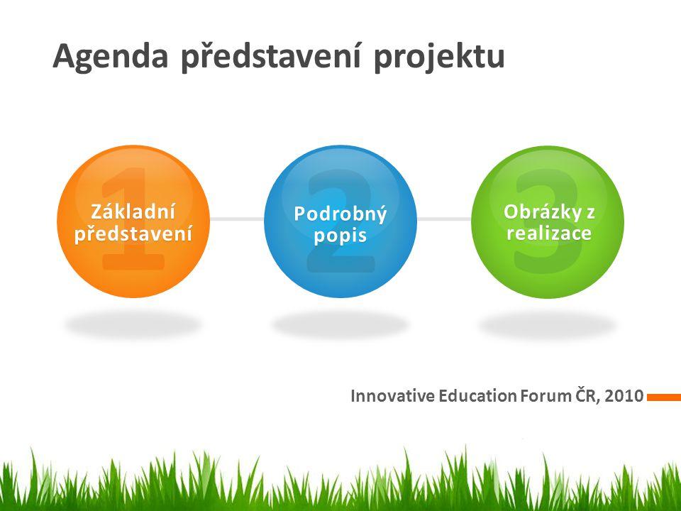 1 2 3 Agenda představení projektu Základní představení Podrobný popis