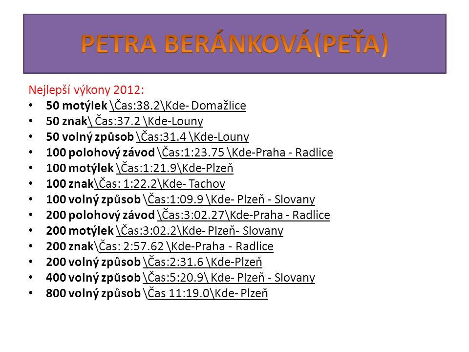 PETRA BERÁNKOVÁ(PEŤA)