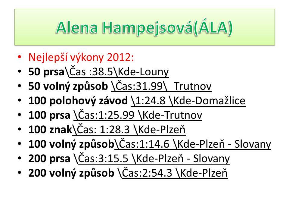 Alena Hampejsová(ÁLA)
