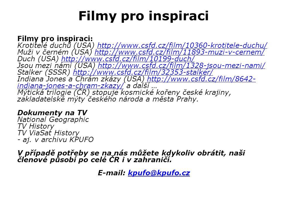 E-mail: kpufo@kpufo.cz