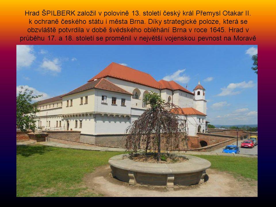 Hrad ŠPILBERK založil v polovině 13