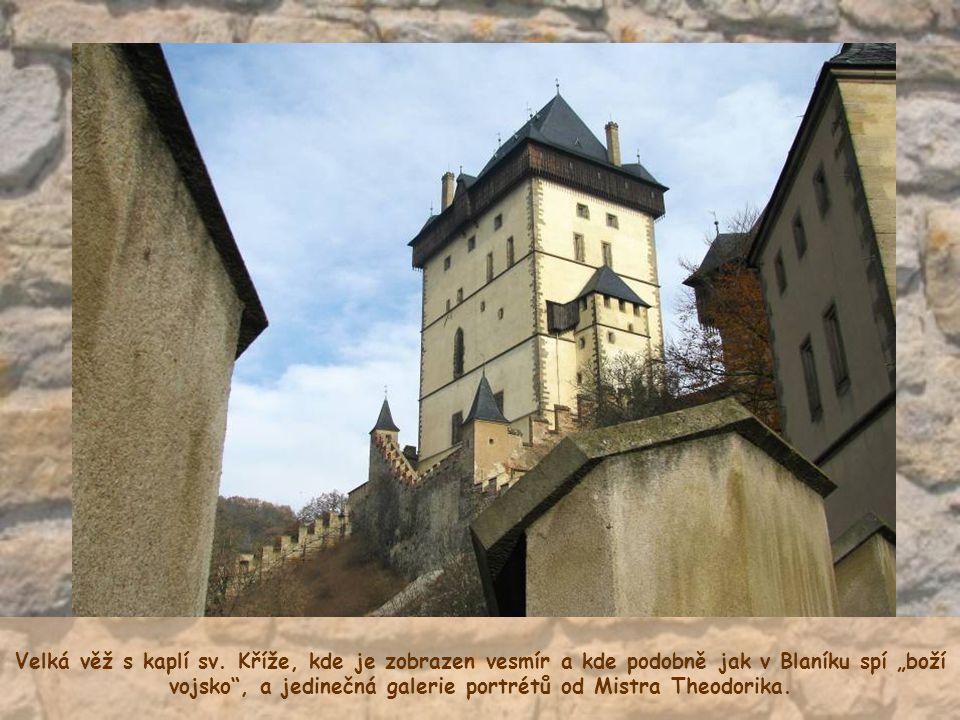 Velká věž s kaplí sv.