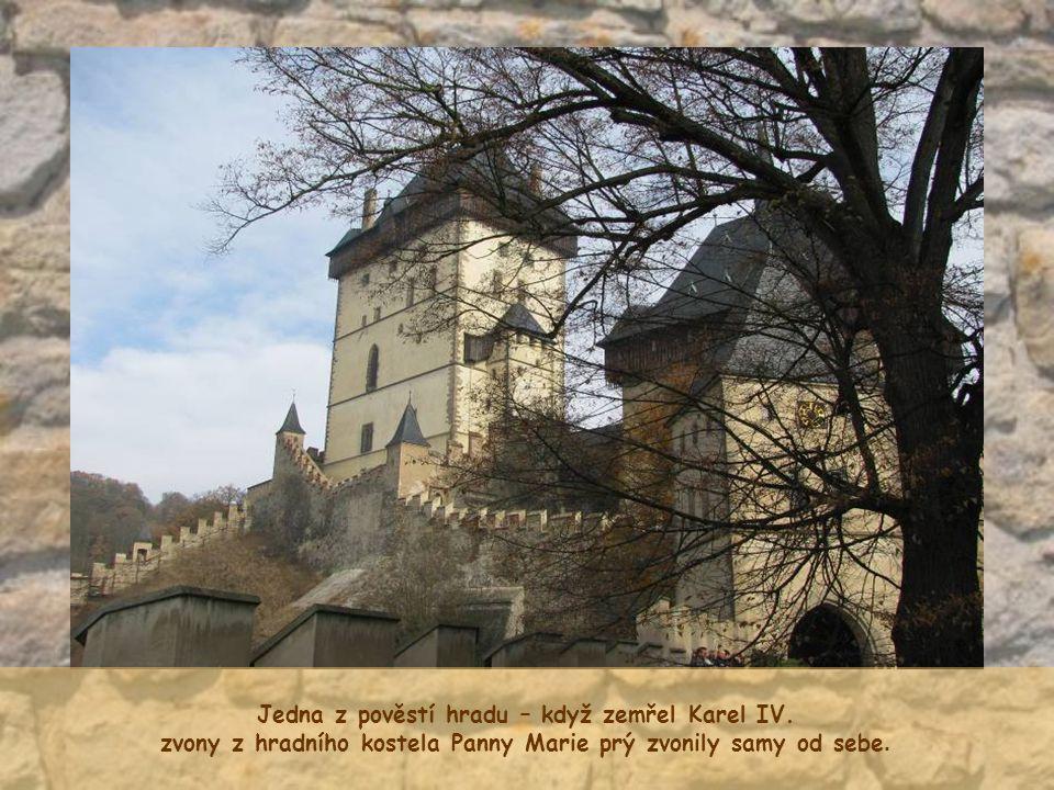 Jedna z pověstí hradu – když zemřel Karel IV.
