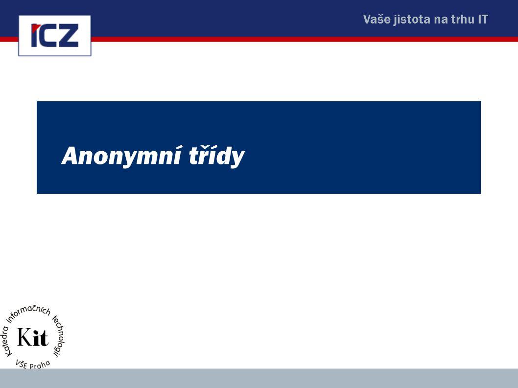 Anonymní třídy