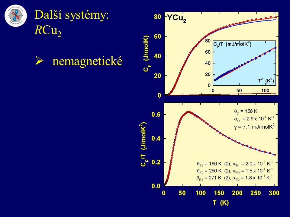 Další systémy: RCu2 nemagnetické