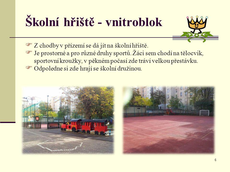 Školní hřiště - vnitroblok