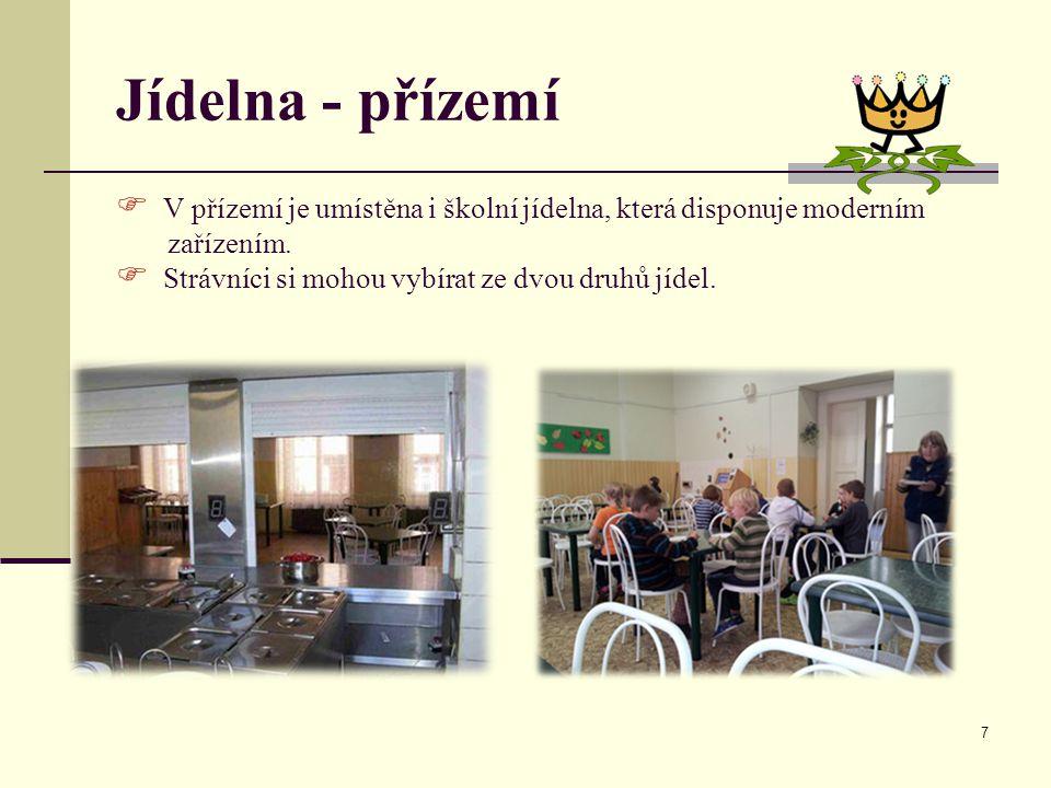 Jídelna - přízemí V přízemí je umístěna i školní jídelna, která disponuje moderním.