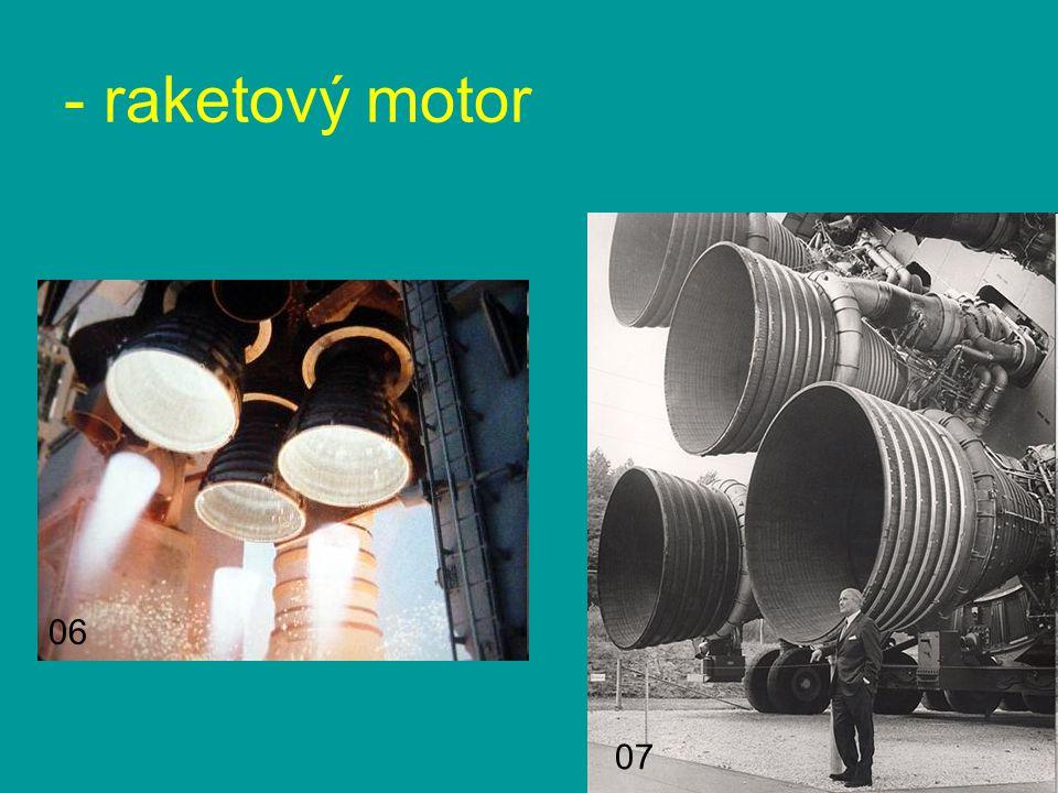 - raketový motor 07 06