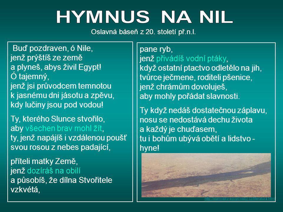 Oslavná báseň z 20. století př.n.l.