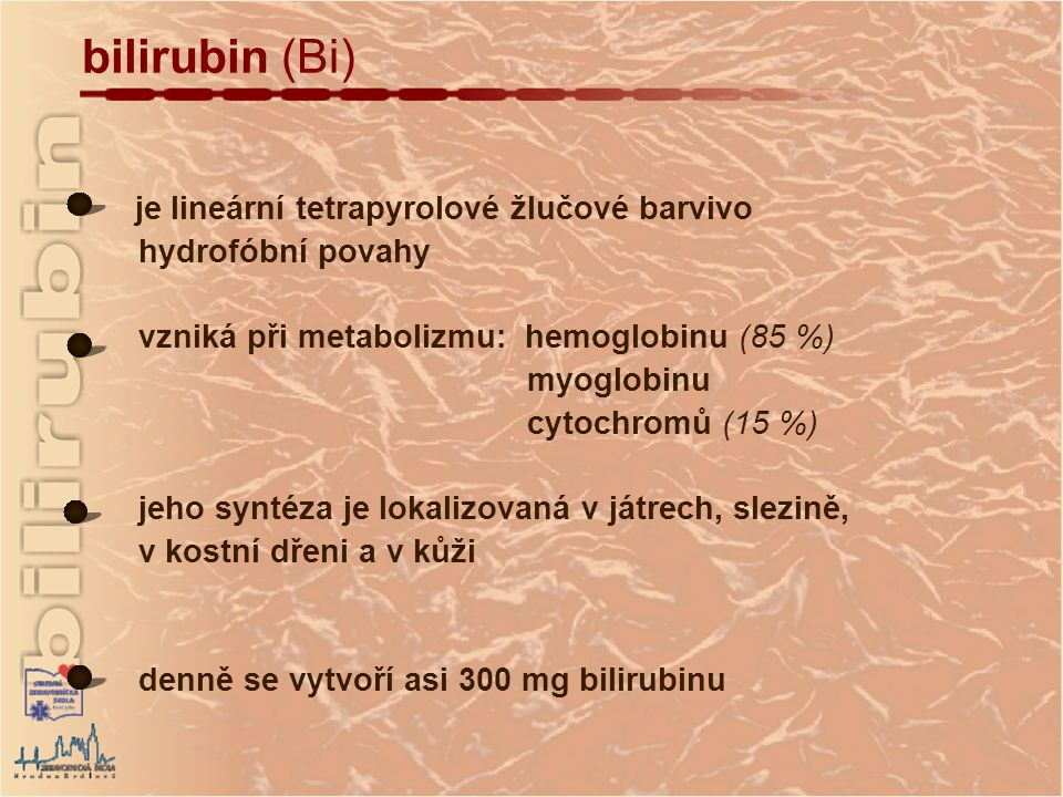 bilirubin (Bi)