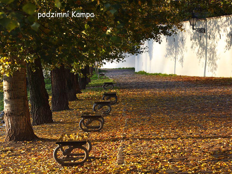 podzimní Kampa