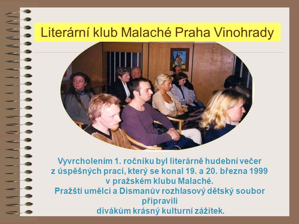 Literární klub Malaché Praha Vinohrady
