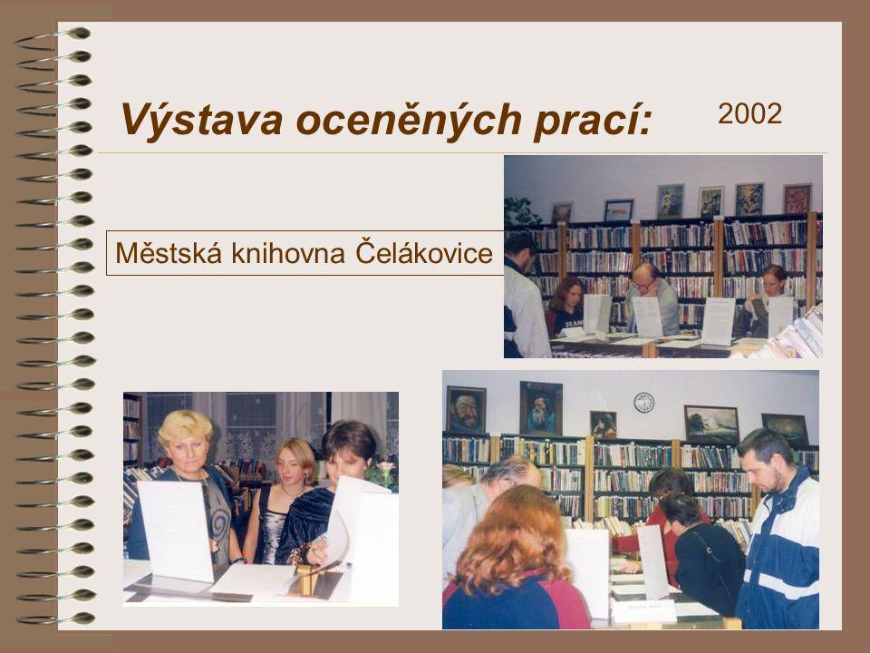 Výstava oceněných prací: