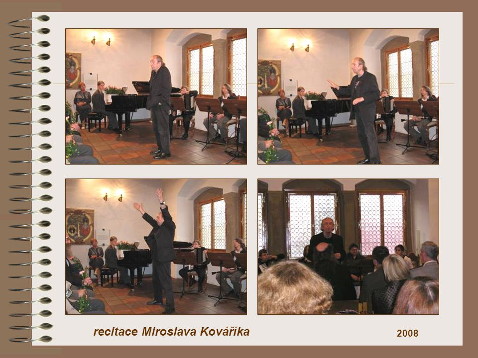 recitace Miroslava Kováříka