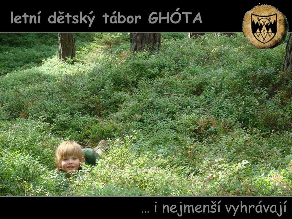 letní dětský tábor GHÓTA