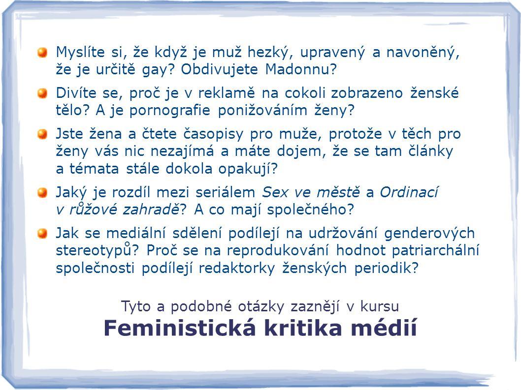Feministická kritika médií
