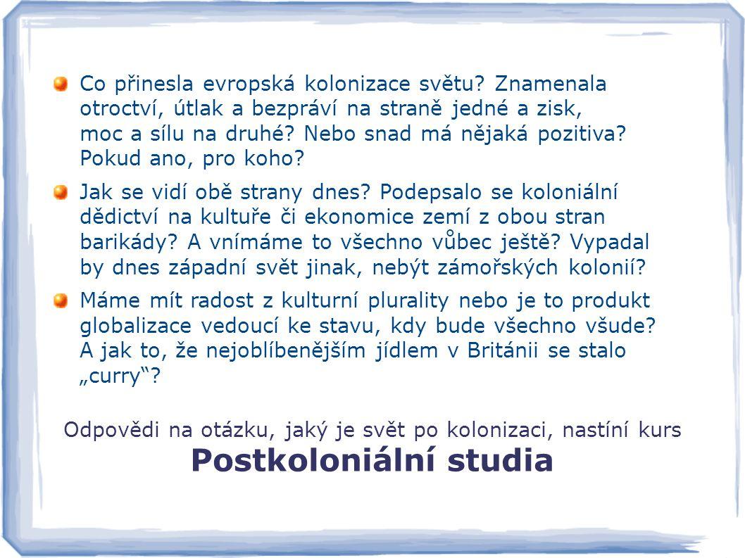 Postkoloniální studia