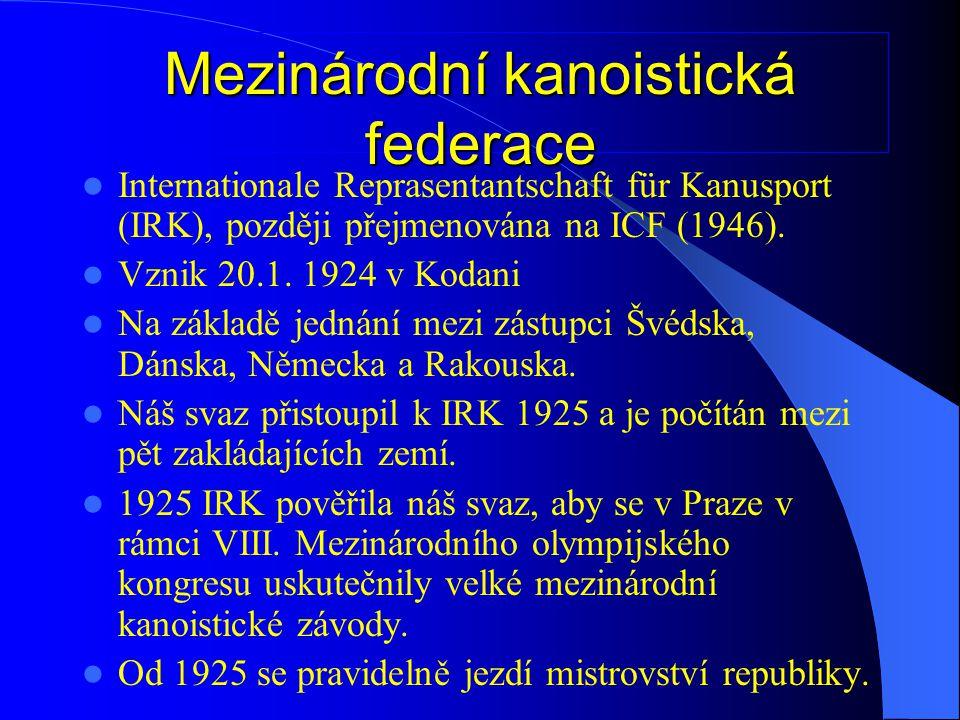 Mezinárodní kanoistická federace