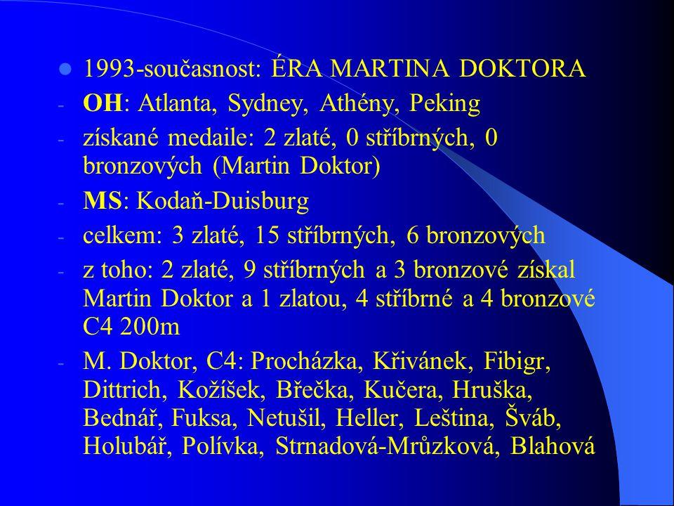1993-současnost: ÉRA MARTINA DOKTORA