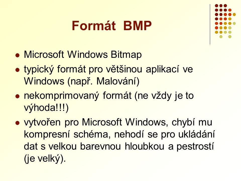 Formát BMP Microsoft Windows Bitmap