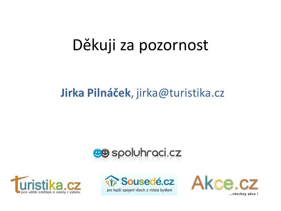 Jirka Pilnáček, jirka@turistika.cz