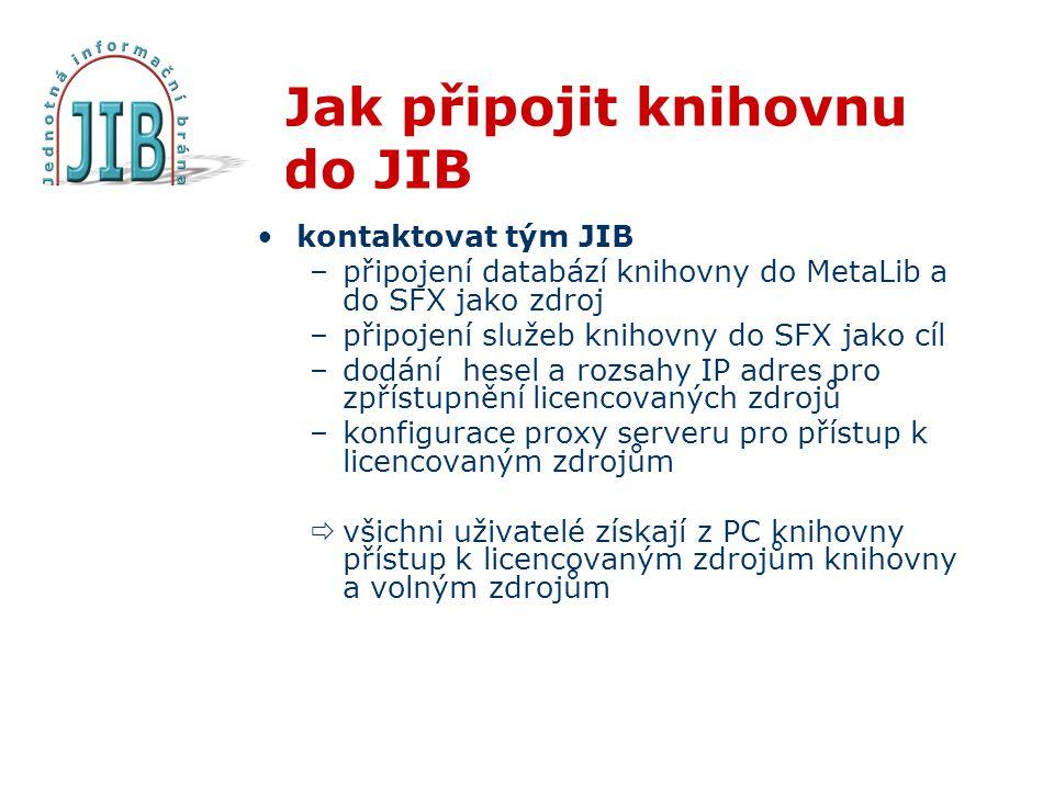 Jak připojit knihovnu do JIB