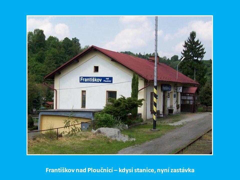 Františkov nad Ploučnicí – kdysi stanice, nyní zastávka