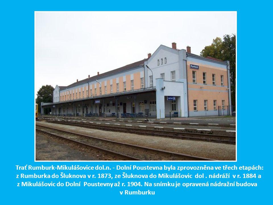 Trať Rumburk-Mikulášovice dol. n