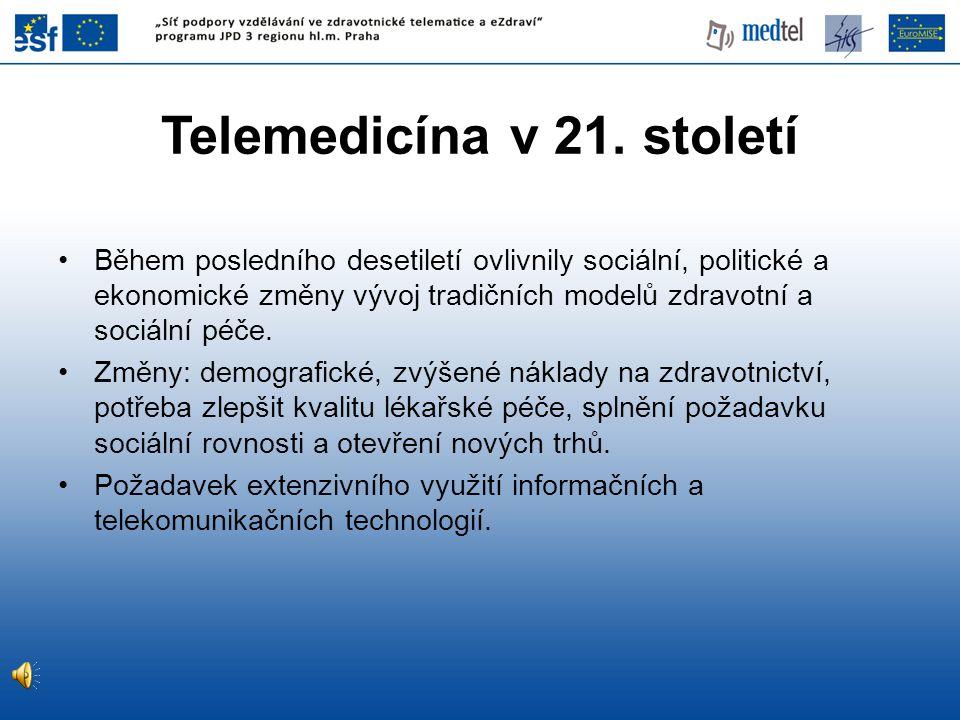 Telemedicína v 21. století