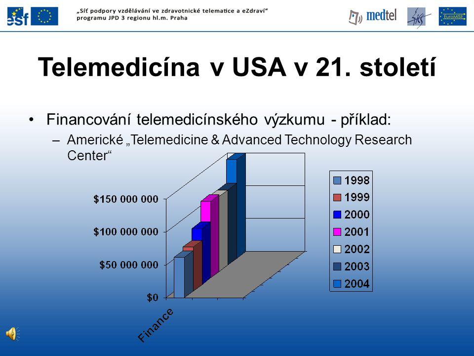 Telemedicína v USA v 21. století
