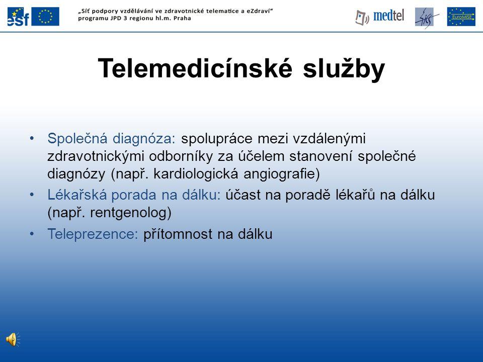Telemedicínské služby
